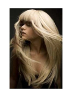 Extensii cheratina blond cenusiu