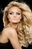 Extensii cheratina blond luminos